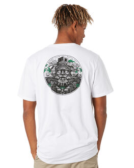 WHITE MENS CLOTHING DEPACTUS TEES - D5202012WHITE