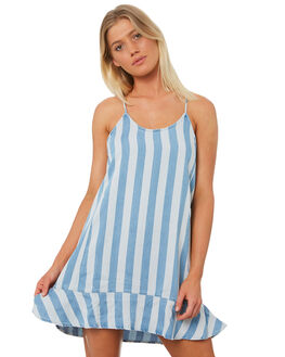 BLEACH STRIPE WOMENS CLOTHING ALL ABOUT EVE DRESSES - 6423074STR