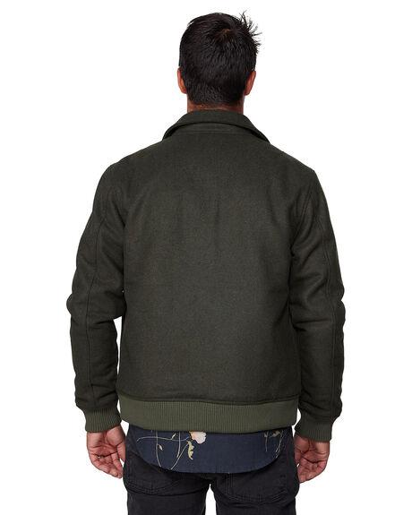 OLIVE HEATHE MENS CLOTHING RVCA JACKETS - RV-R307432-OLH