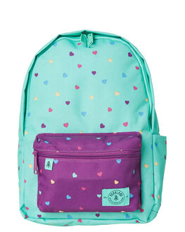 CANDY HEARTS KIDS GIRLS PARKLAND BAGS + BACKPACKS - 20020-00240CNDY