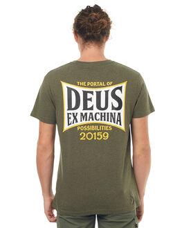 LEAF MARLE MENS CLOTHING DEUS EX MACHINA TEES - DMS71919ELMRL
