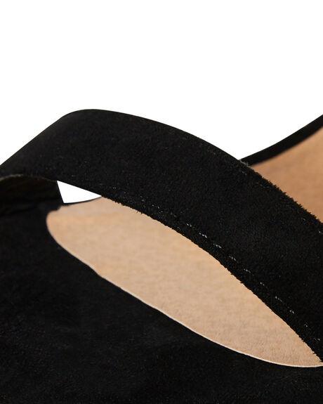 BLACK SUEDE OUTLET WOMENS BILLINI HEELS - H1061BLK