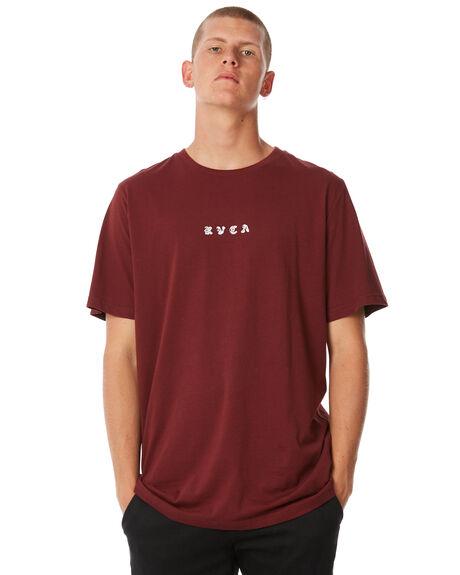 BORDEAUX MENS CLOTHING RVCA TEES - R183053BRDX