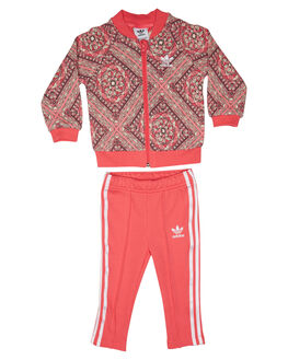 MULTICOLOUR PINK KIDS TODDLER GIRLS ADIDAS ORIGINALS JACKETS - CE4351MLTPK