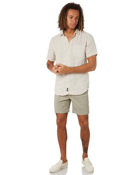 DUSTY OLIVE MENS CLOTHING ACADEMY BRAND SHORTS - BA602DSTOL