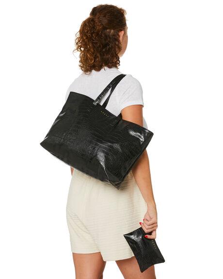 BLACK WOMENS ACCESSORIES RUSTY BAGS + BACKPACKS - BFL1105BLK