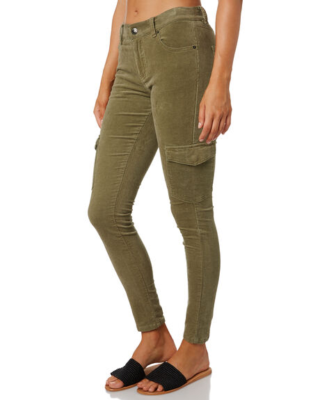 FADED OLIVE WOMENS CLOTHING RUSTY PANTS - PAL1107FDO