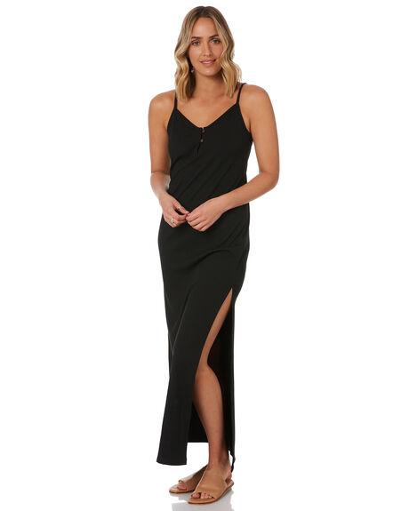 BLACK WOMENS CLOTHING RUSTY DRESSES - DRL1046-BLK
