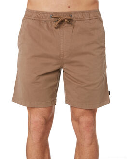 KHAKI MENS CLOTHING RIP CURL SHORTS - CWALS10064