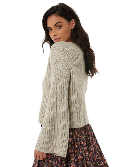 WHITE WOMENS CLOTHING TIGERLILY KNITS + CARDIGANS - T383135WHT