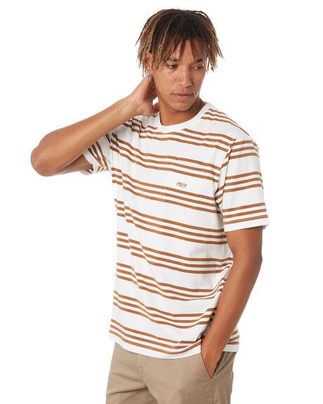 SIENNA MENS CLOTHING POLER TEES - 213APM3501-SIE