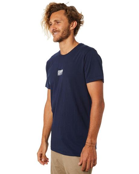 NAVY BLUE MENS CLOTHING RUSTY TEES - TTM1998NVB