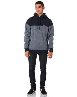 NAVY STRATA MARLE MENS CLOTHING BILLABONG JUMPERS - 9595610NVYST
