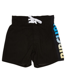 WASHED BLACK KIDS BOYS RIP CURL BOARDSHORTS - OBOAC38264