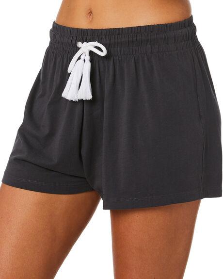 VINTAGE BLACK WOMENS CLOTHING SWELL SHORTS - S8211233VINBK