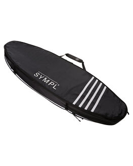 BLACK WHITE BOARDSPORTS SURF SYMPL SUPPLY CO BOARDCOVERS - TRIP68BLKWH