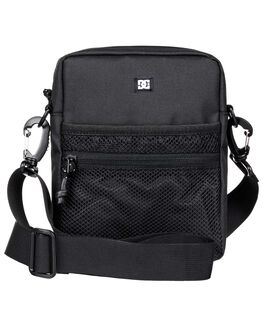 BLACK MENS ACCESSORIES DC SHOES BAGS + BACKPACKS - EDYBA03073-KVJ0