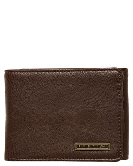 CHOCOLATE MENS ACCESSORIES RUSTY WALLETS - WAM0535CHO