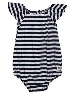 NAVY WHITE STRIPE KIDS BABY SWEET CHILD OF MINE CLOTHING - SCOUTRMPNVYWT