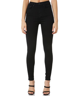 JET BLACK WOMENS CLOTHING INSIGHT JEANS - 1000059719JTBLK