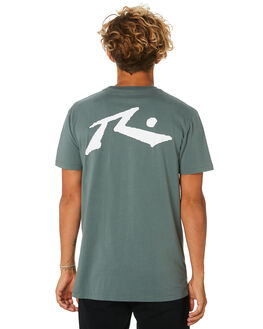 EVERGREEN MENS CLOTHING RUSTY TEES - TTM1612EVG
