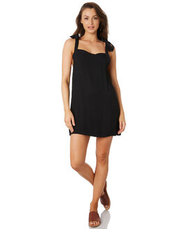 BLACK WOMENS CLOTHING HURLEY DRESSES - CJ6170010