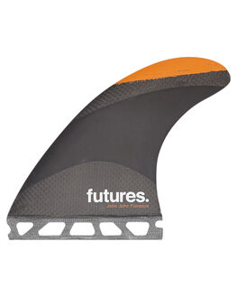 BLACK ORANGE SURF HARDWARE FUTURE FINS FINS - JJM-010703BLKOR