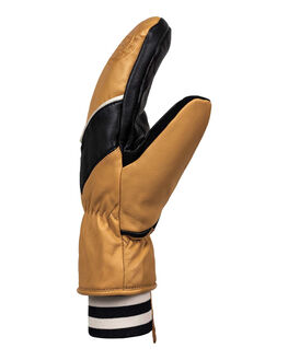 SPRUCE YELLOW BOARDSPORTS SNOW ROXY GLOVES - ERJHN03132-YLK0
