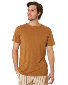 ALMOND MENS CLOTHING RHYTHM TEES - OCT19M-CT02-ALM