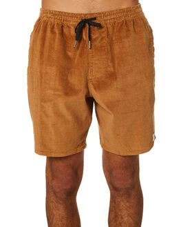 TOBACCO MENS CLOTHING RHYTHM SHORTS - JAN19M-JM03-TOB