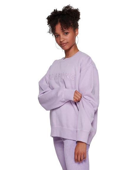 LAVENDER WOMENS CLOTHING BILLABONG JUMPERS - BB-6591737M-L10