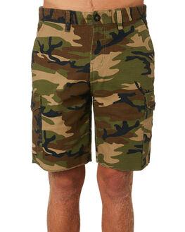 WOODLAND CAMO MENS CLOTHING BRIXTON SHORTS - 04101WOODC