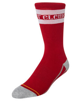 RED WOMENS CLOTHING ELEMENT SOCKS + UNDERWEAR - 283693RED