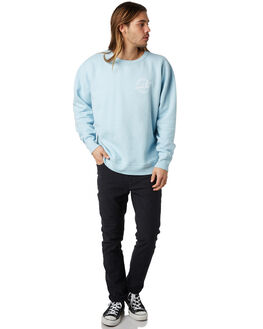 DUSTY BLUE MENS CLOTHING OAKLAND SURF CLUB JUMPERS - SP18-S2-DDBLUE