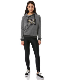 CHARCOAL WOMENS CLOTHING HURLEY JUMPERS - AGFLDFDKA07F