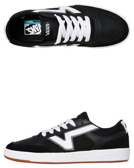BLACK MENS FOOTWEAR VANS SNEAKERS - VN0A4TZYOS7BLK