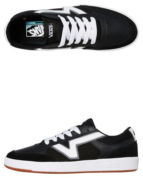 BLACK MENS FOOTWEAR VANS SNEAKERS - VN0A4TZYOS7BLK