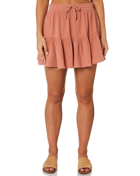 SUNBURN WOMENS CLOTHING RHYTHM SKIRTS - JUL19W-SK03SUN