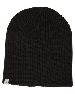 BLACK WOMENS ACCESSORIES HURLEY HEADWEAR - GHAOAOBG010