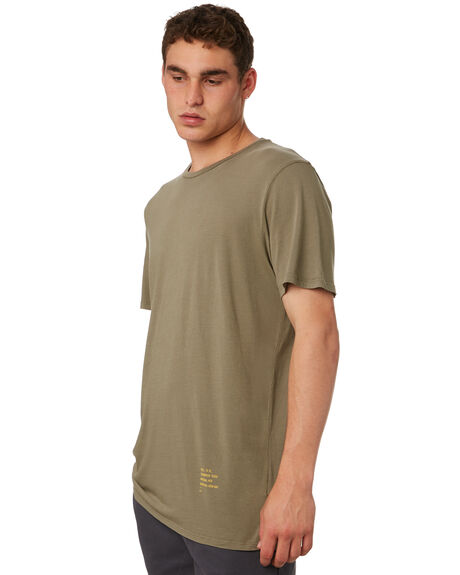 OLIVE OUTLET MENS OUTERKNOWN TEES - 12151302OLV