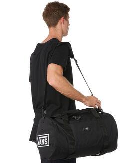 VANS BLACK WHITE MENS ACCESSORIES VANS BAGS + BACKPACKS - VNA36OOTDVVBLKW