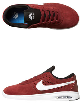 RED WHITE BLACK MENS FOOTWEAR NIKE SKATE SHOES - 882097-614