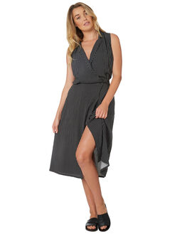 BLACK OUTLET WOMENS THE HIDDEN WAY DRESSES - H8188444BLACK