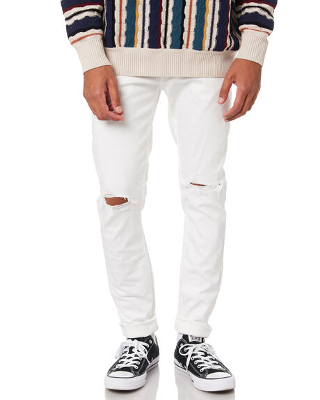 WHITE RIP MENS CLOTHING ROLLAS JEANS - 157654484