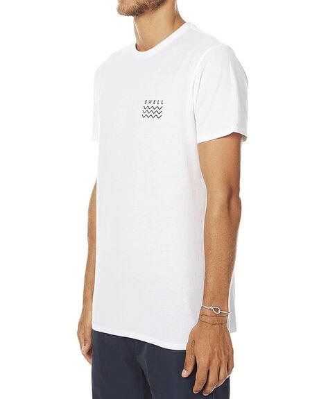 WHITE NAVY MENS CLOTHING SWELL TEES - S5164013WHTNV