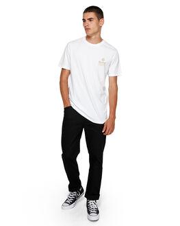 WHITE MENS CLOTHING ELEMENT TEES - EL-193003-WHT