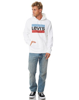 WHITE MENS CLOTHING LEVI'S JUMPERS - 19491-0025