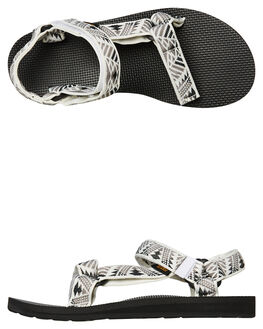 BOOMERANG WHITE GREY WOMENS FOOTWEAR TEVA FASHION SANDALS - T1003987BWGR