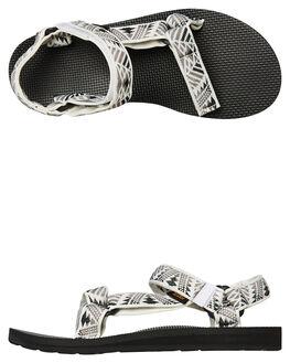 BOOMERANG WHITE GREY WOMENS FOOTWEAR TEVA FASHION SANDALS - T1003987BWGR