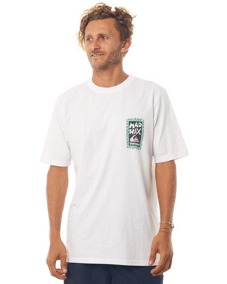 WHITE MENS CLOTHING QUIKSILVER TEES - EQYZT04817WBB0